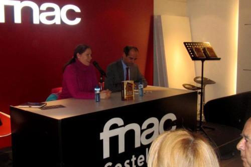 26 DE OCTUBRE 2011<BR>Presentación La Torre del Gallo en FNAC Castellana (Madrid)