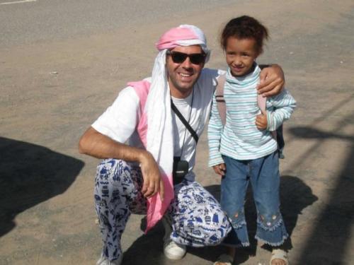 Una niña y yo