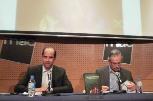 12 DE FEBRERO 2013<BR>Presentación de El cooperante en FNAC-Triangle (Barcelona)
