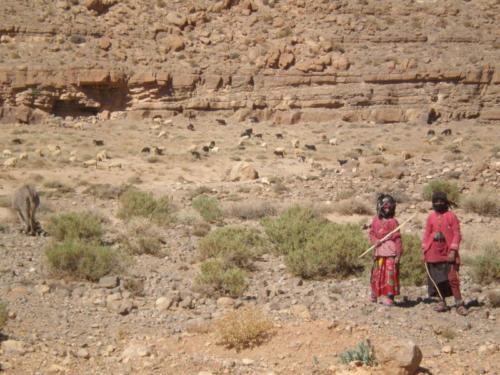 Nómadas en el Alto Atlas