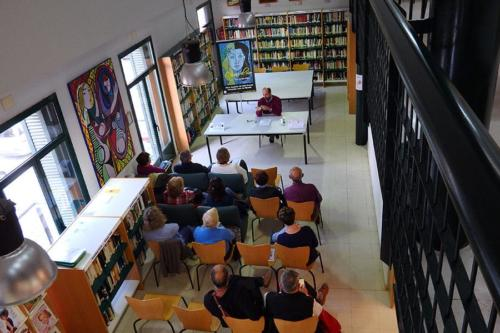 10 DE ABRIL 2015<BR>Presentación de-Cruzar el río en Biblioteca El Pilar (Fuente El Saz)