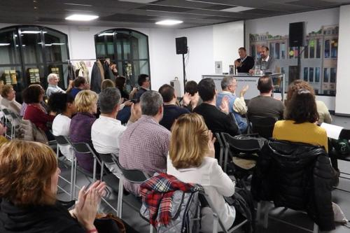 16 DE DICIEMBRE 2016<br>Presentación de Lo que esconde tu mano izquierda en La Casa Encendida (Madrid)