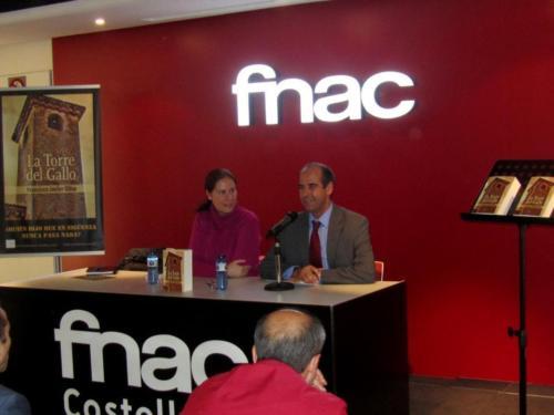 Presentación de La torre del gallo en FNAC